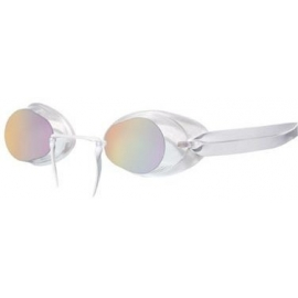 Lunettes TYR Suedoises Socket Rocket 2 Metallized clear ice miroir