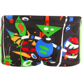 Funky Trunks Black Stig Toddler Boy