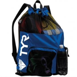Big Mesh Bag Tyr Mummy bleu royal