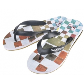 Tongues Quiksilver Carver DNA White Black Multi