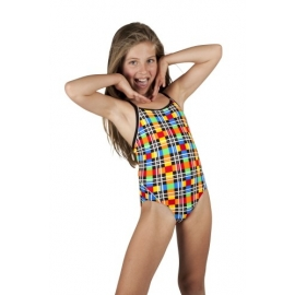 Funkita Colour Tube 1 piece Diamond Back Fille