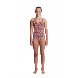Funkita Fille 1 piece Radio City - Diamond Back