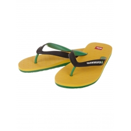 Tongues Quiksilver COMPOUND YELLOW GREEN BLACK - 13