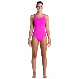 Funkita Femme 1 piece Still Pink - Diamond back