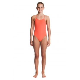Funkita Fille 1 piece Still Orange - Diamond Back