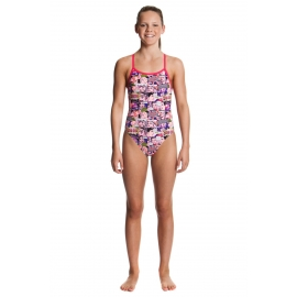 Funkita Fille 1 piece Swim Romance - single strap