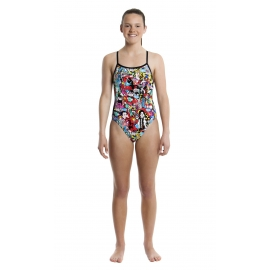 Funkita Fille 1 piece Heads Of State- single strap