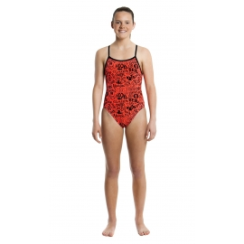Funkita Fille 1 piece Stop The Disaster - single strap