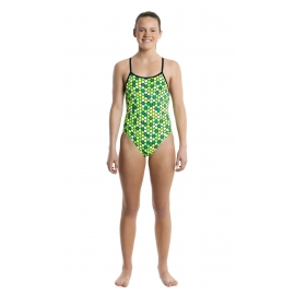 Funkita Fille 1 piece Golden Honeycomb- Diamond Back