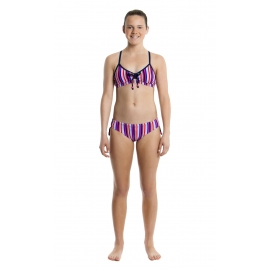 Maillot fille 2 pieces FUNKITA Colour Love Tie Detail 2 Piece