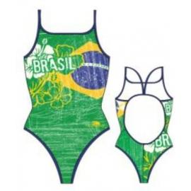 Maillot de bain Femme 1 piece Turbo Brasil Vintage 2013 Thin Straps