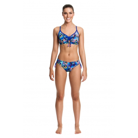 Funkita Femme PEACOCK PARADISE - 2 pieces Tie Detail