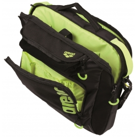Sacoche ARENA FAST Coach Black,Fluo_Yellow