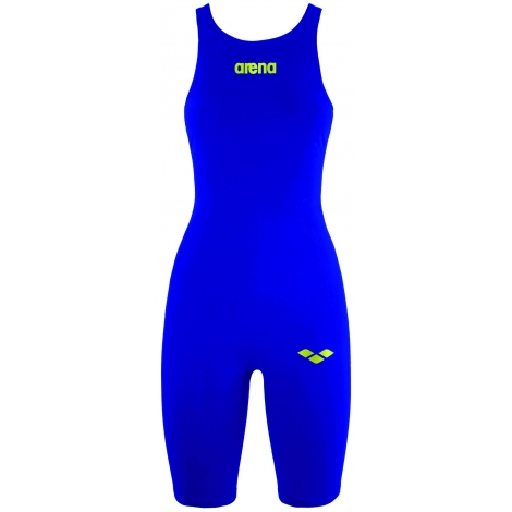 Combinaison Femme ARENA PowerSkin R EVO Full Body Short Leg Open FBSLO ELECTRIC BLUE/FLUO YELLOW