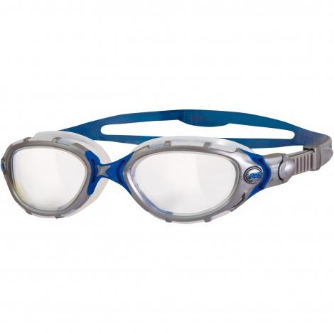 Lunettes Zoggs Predator Flex Clear-Silver-Blue