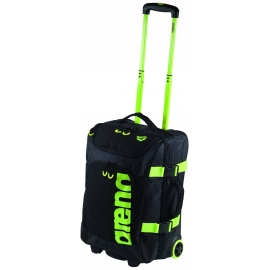 Valise ARENA FAST Trolley Black fluo yellow