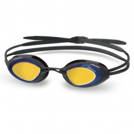 Lunettes HEAD Stealth Mirrored Black - Blue