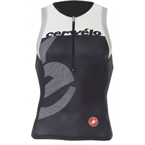Singlet Triathlon CASTELLI CERVELO Tri Top 2015
