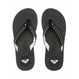 Tongs Roxy Lava Flip Flops - Black