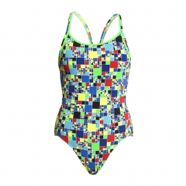 Funkita Fille - Rubik's Runner - Diamond Back