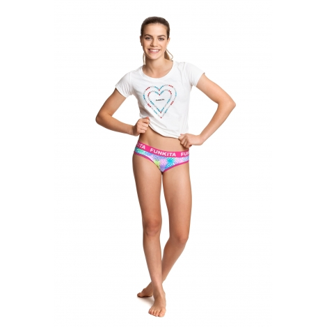sous vetement fille funkita tooty fruity girls underwear brief les4nages. Black Bedroom Furniture Sets. Home Design Ideas