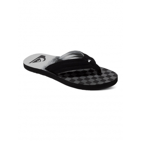 Tongues Quiksilver BASIS BLACK - GREY - GREY - XKSS