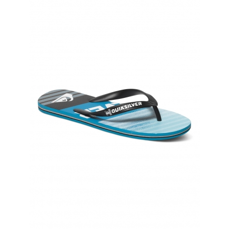 Tongues Quiksilver MOLOKAI INCLINED BLACK - BLUE - BLUE - XKBB