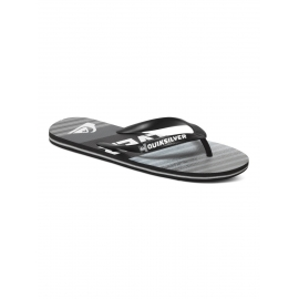 Tongues Quiksilver MOLOKAI INCLINED Black Black Grey XKKS