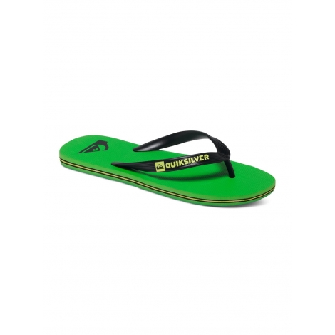 Tongues Quiksilver MOLOKAI Black Green Black XKGK