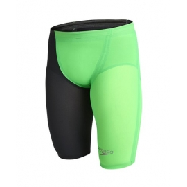 SPEEDO Fatskin LZR Racer Elite 2 High Waisted Jammer - Fluo Green / Black