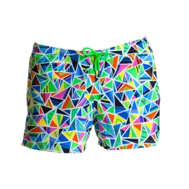 Watershort court FUNKY TRUNKS Crazy Cracks Shorty Shorts
