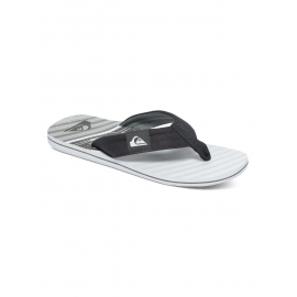 Tongs Quiksilver Molokai Layback XKSW Black Grey White