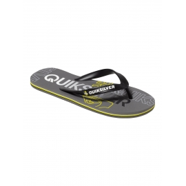 Tongs Quiksilver Molokai Nitro XKSS - Black Grey Grey