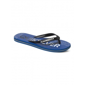 Tongs Quiksilver Molokai Nitro XKB - Black Blue
