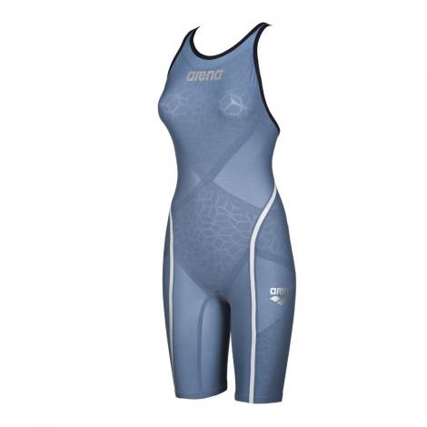 vente discount sélectionner pour authentique sélection mondiale de ARENA Carbon Ultra - Blue Steel Silver - Combinaison Femme natation Dos  Ouvert