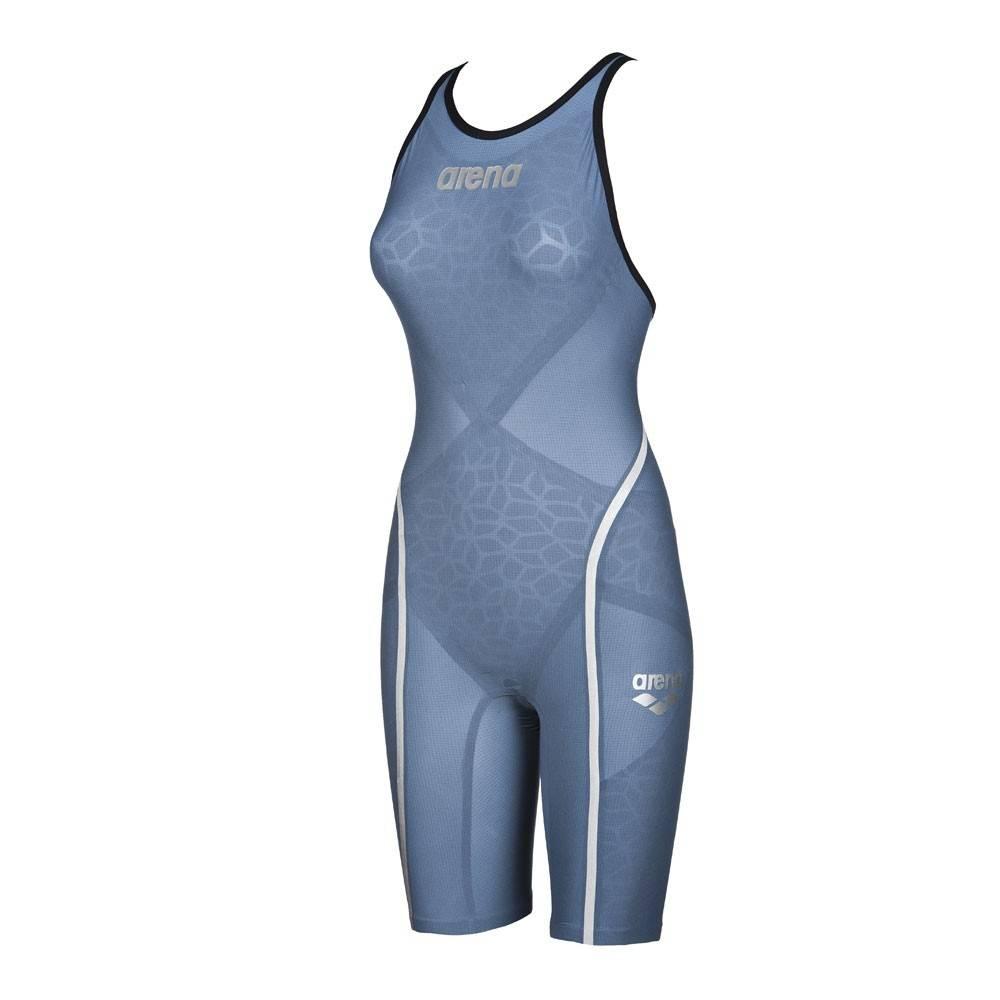 56d24e02f8b083 ARENA Carbon Ultra - Blue Steel Silver - C...ARENA Carbon Ultra - Blue  Steel Silver - Combinaison Femme natation Dos Ouvert