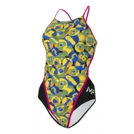 MP Michael Phelps - Carimbo Green Yellow - Open Back