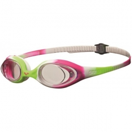 Lunettes ARENA Spider Junior Lime / Fuchsia / White / Clear