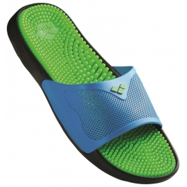 Claquettes Arena MARCO X GRIP BOX HOOK - Solid Lime Turquoise