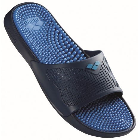 Claquettes Arena MARCO X GRIP BOX HOOK - Solid Fast Blue / Navy