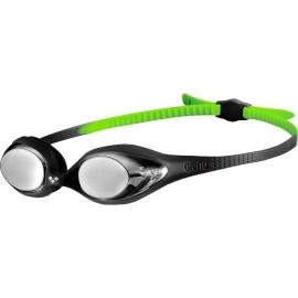 ARENA Spider Junior Mirror - Black Silver Green