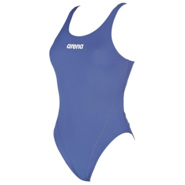 Arena SOLID Swim Tech High - Royal White - Maillot Femme Natation
