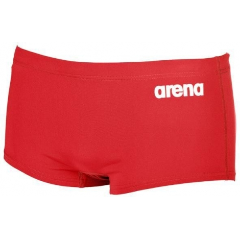 Arena Solid Squared Short - Red White