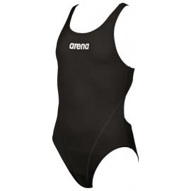 ARENA Solid swim tech Junior Black White