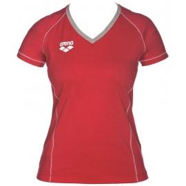 Tee shirt Femme ARENA Team Line SS Tee - Red