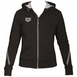 Veste Femme ARENA Team Line Hooded Jacket - Black