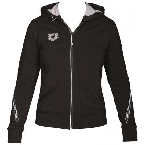 Veste Femme ARENA Team Line Hooded Jacket - Black