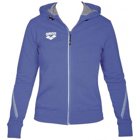 Veste Femme ARENA Team Line Hooded Jacket - Royal