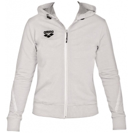 Veste Femme ARENA Team Line Hooded Jacket - White