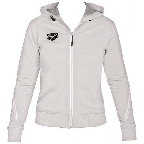 Veste Femme ARENA Team Line Hooded Jacket - White